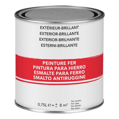 Smalto per ferro antiruggine bianco brillante 0,75 L