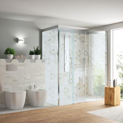 Bidet a pavimento filo muro smash prezzi e offerte online leroy merlin - Sensea accessori bagno ...