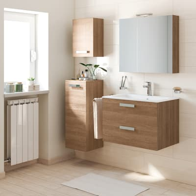 Mobile bagno Key marrone L 90 cm