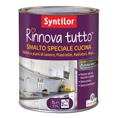 Smalto Rinnova tutto Syntilor Giallo Canarino 1 satinato 1 L