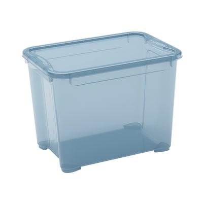 Scatola T Box S L 38 x P 26,5 x H 28,5 cm azzurro