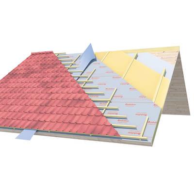 Telo traspirante Onduline 150 g/m², 1,5 x 50 m