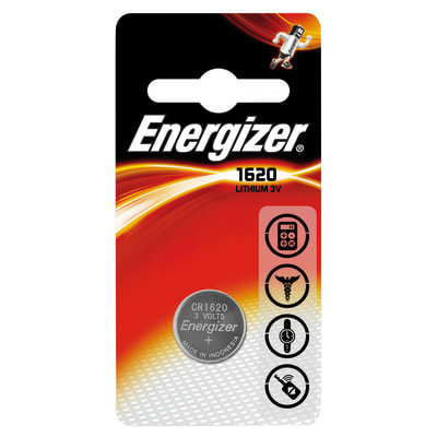 Pila a bottone Litio CR1620 Energizer