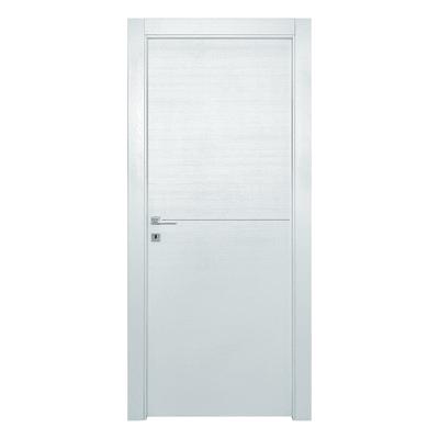 Porta da interno battente Hollow bianco matrix 70 x H 210 cm dx