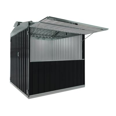 chiosco in metallo Cuba 6,27 m², 1 ribalta