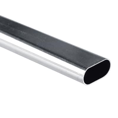 Tubo cromo L 100 x P 1,5 x H 3 cm