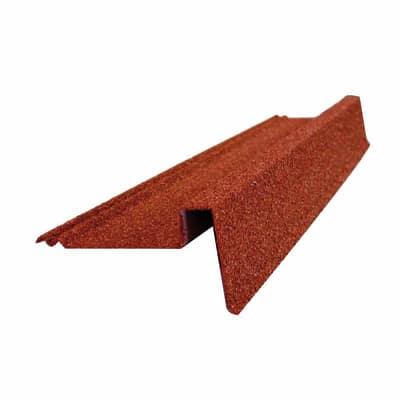 Bordura per lastra Easy Tuile color rosso, L 90 cm