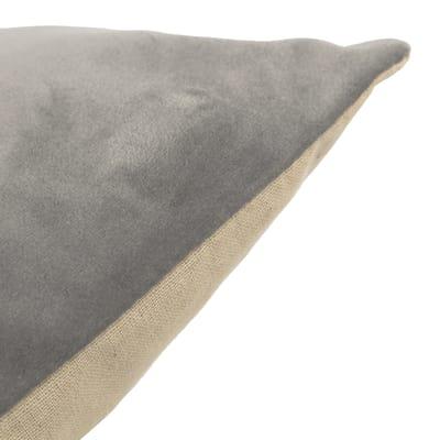 Cuscino Misty grigio retro tinta unita 40 x 40 cm