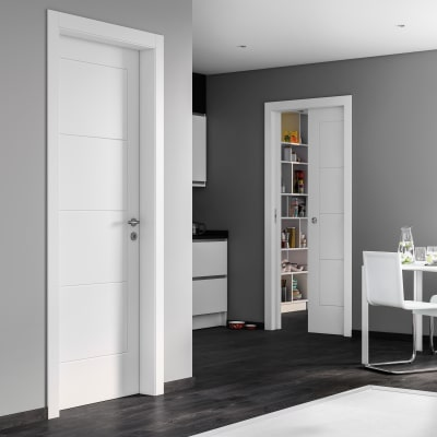 Porta da interno battente Ribera 90 x H 210 cm dx