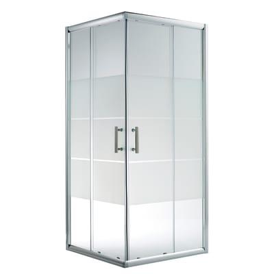 Box Doccia Scorrevole Optima 77 79 X 117 119 H 190 Cm Cristallo 5