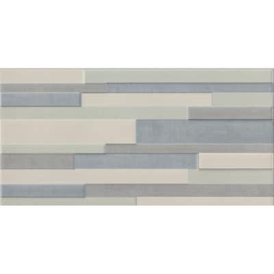 Piastrella Techno 20 x 40 cm grigio, beige