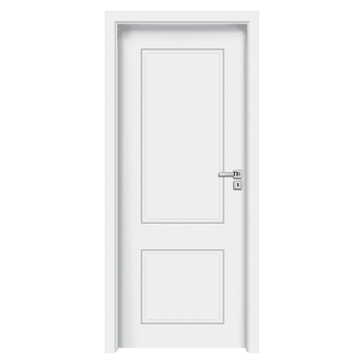 Porta da interno battente Samui bianco 60 x H 210 cm sx
