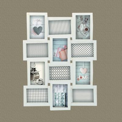 portafoto multiplo bianco shabby 12 foto prezzi e offerte