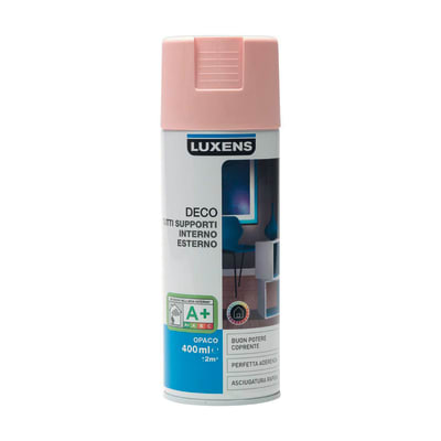 Smalto spray Deco Luxens Rosa Blush 5 opaco 400 ml