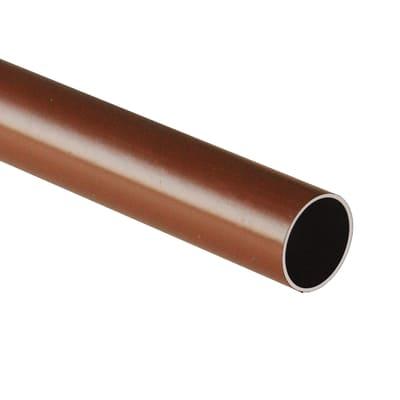 Tubo appendiabiti marrone L 200 cm