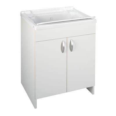 Mobile lavatoio prix bianco l 59 2 x p 50 5 x h 84 cm for Leroy merlin lavatoio