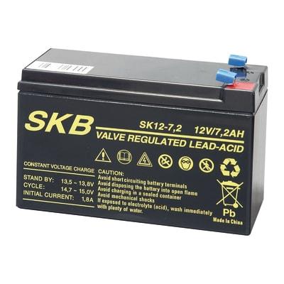 Batteria tampone al piombo per allarmi, sirena, centrale SKB 38.6407.04