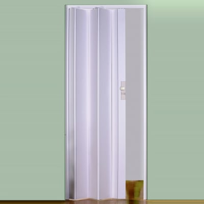 Porta a soffietto maya bianco l 83 x h 214 cm prezzi e - Porta a soffietto leroy merlin ...