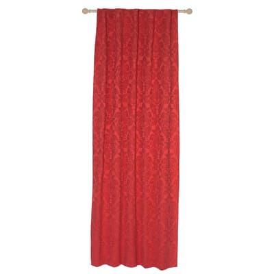 Tenda Grace rosso 135 x 280 cm