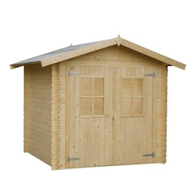 Casetta in legno grezzo dolly 3 45 m spessore 18 mm prezzi e offerte online leroy merlin - Tavole legno grezzo leroy merlin ...