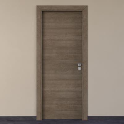 Porta per hotel battente Radisson tabacco 70 x H 210 cm sx