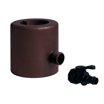 Recuperatore acqua pluviale con rubinetto in plastica