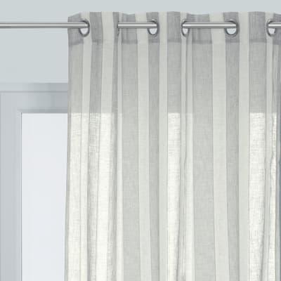 Tenda vanessa inspire grigio 140 x 280 cm prezzi e offerte for Tende zanzariere leroy merlin
