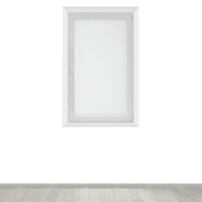 Tendina a vetro per finestra Manuela naturale 90 x 160 cm