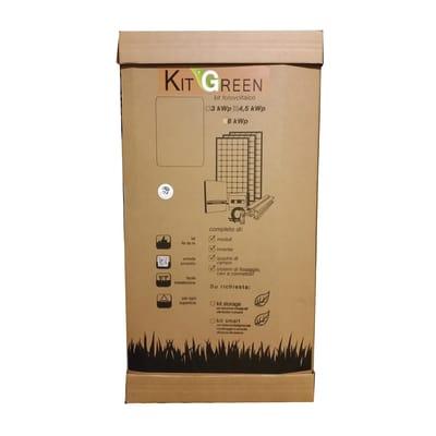 Impianto fotovoltaico Green Top 3KWP