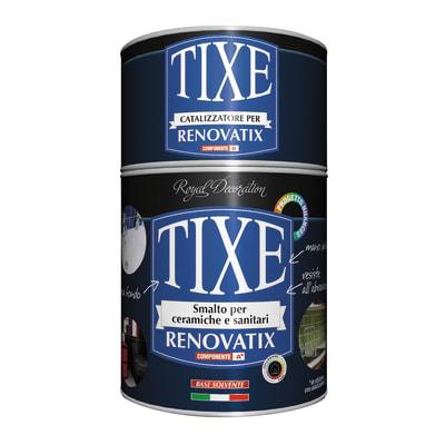 Smalto manounica Renovatix Tixe Nero brillante 0,75 L