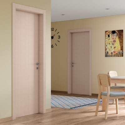 Porta da interno battente Klimt kaki 80 x H 210 cm dx