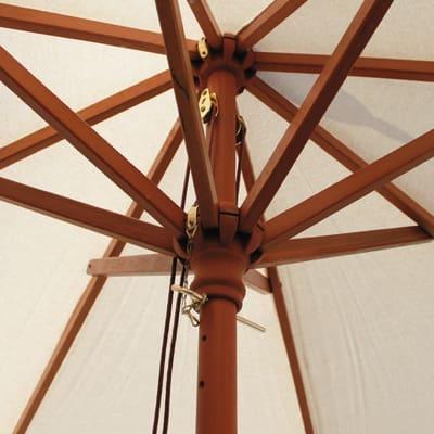 Ombrellone Ø 2,25 m ecru