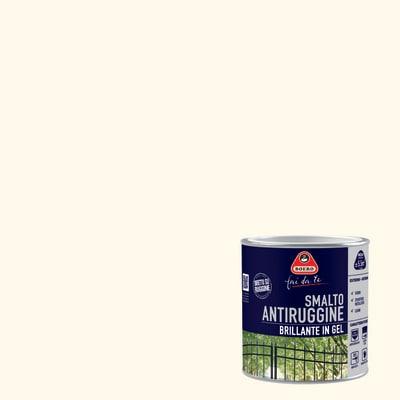 Smalto per ferro antiruggine Boero bianco brillante 0,5 L