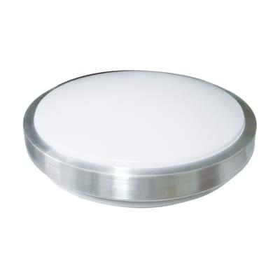 Plafoniera bianco L 38 x H 10,5 cm