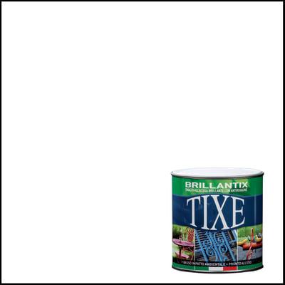 Smalto per ferro antiruggine Tixe Brillantix bianco brillante 2,5 L