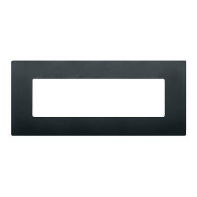 Placca 7 moduli Vimar Arké nero