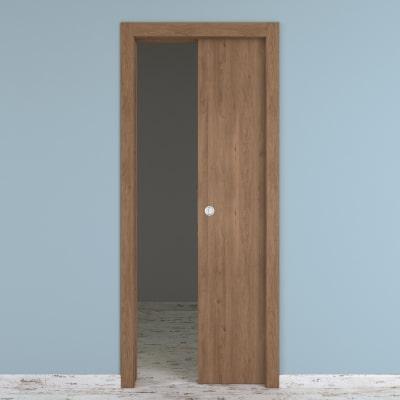 Porta da interno scorrevole Aztec 80 x H 210 cm reversibile