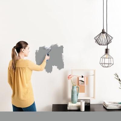 Tester idropittura murale Mano unica Argento Luxens