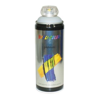 Smalto spray Platinum grigio argento RAL 7001 satinato 400 ml