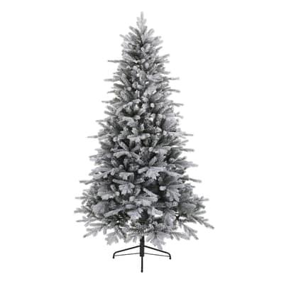 Albero di Natale artificiale Cervino Frost H 180 cm