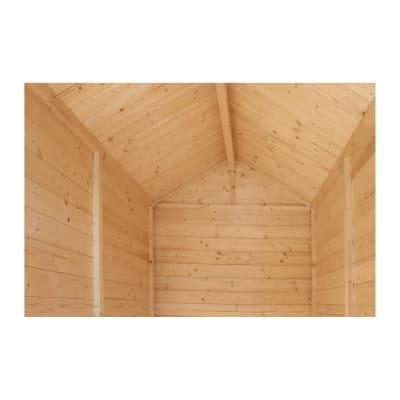 casetta in legno grezzo Budapest 2,16 m², spessore 14 mm