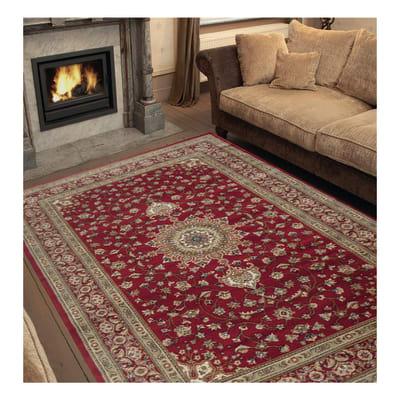 Tappeto bechir rosso 160 x 235 cm prezzi e offerte online for Leroy merlin tappeti
