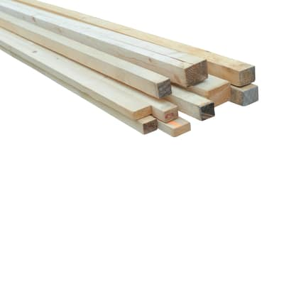 Listello per carpenteria 4 m x 3,8 x 3,8 cm