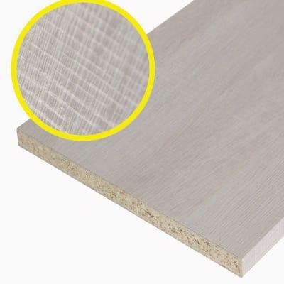 Pannello melaminico rovere chiaro 25 x 800 x 1380 mm